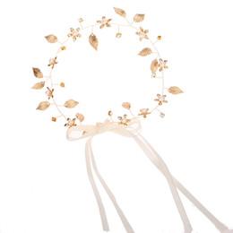 SN/_ EB/_ 1//5Pcs Women Leaf Hair Band Rope Metal Headband Elastic Ponytail Holde