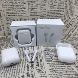 2019 apfel iphone ohrknospen I9S Tws I9S-TWS I9S TWS Drahtlose Bluetooth Sport Magnetische Zwillinge Ohrstöpsel Kopfhörer Headset i7 i8x Ladebox für iphone8 Samsungs8 s9 Top
