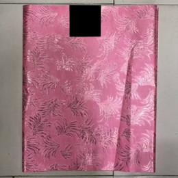 2019 tissus de gele Tissu africain classique de Gele, enveloppe de gele de cravate nigérienne Sego pour des enveloppements de tête, lot 2pcs, LXL-41-2