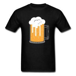 2019 gold jungs New York City Gold Bier Graphic Tees Männer T-Shirt New Fashion XXXL Urban T-Shirt Für Männer Einfachen Stil Slim Fit T-shirt Schwarz günstig gold jungs