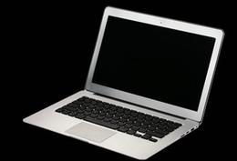 I7 computer online-13.3Inch intel I7 tastiera retroilluminata Ultrabook Laptop Windows 10 Computer 8 GB 256 GB Notebook in alluminio con copertura in metallo PC regalo gratuito