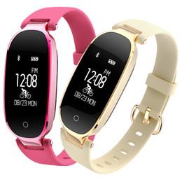 Damenuhr Luxus Frauen Sport Laufen Smart Armband Band Pulsmesser Fitness Weibliche Smartwatch Für Android Ios J190522 von Fabrikanten