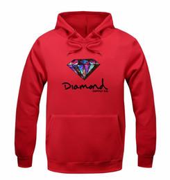 Diamond supply sweatshirt online-2019 Diamond supply co hombres sudadera con capucha mujer calle polar cálido sudadera invierno otoño moda hip hop primitivo suéter al por mayor