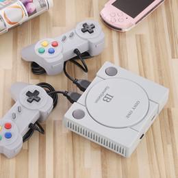 Giocatore bluetooth tv online-Coolbaby Mini HD Retro Game Console HDMI Uscita 8 Bit / 16 Bit TV RPG giocatore del gioco PS1 648 Supporto gioco classico Scarica Giochi