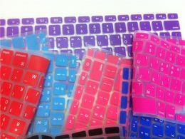 """Macbook pro letras online-Cartas coreanas Protector de teclado para Macbook Air Pro Retina 13 """"15"""" 17 """"Cubiertas de portátil para Mac libro 13 15 Versión de EE. UU."""