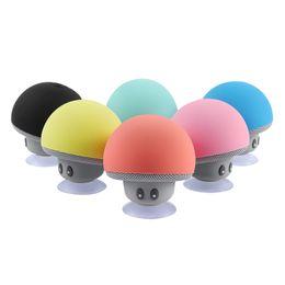 altoparlanti di musica wireless per il telefono Sconti Mini Altoparlante Bluetooth Impermeabile Fungo Wireless Musica Hi-Fi Subwoofer stereo vivavoce per telefono Android IOS