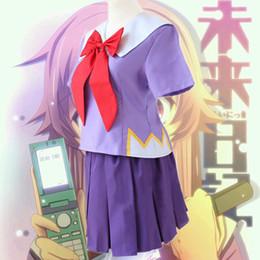 Bayan Gelecek Günlüğü Cosplay Kostüm Gasai Yuno Okul Üniforma Elbise nereden
