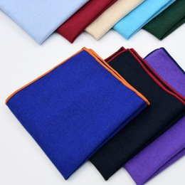Baumwolle 25 cm Monochrome Black Spot Supply Mehrfarbig Optionaler Herrenanzug und Handtuch von Fabrikanten