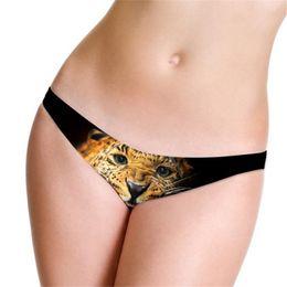 leopard weibliche unterwäsche Rabatt Sexy Leopard Low Waist Damen Slip Ice Silk Skinny Damen Slips Weibliche Unterwäsche