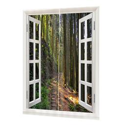 2019 estores estilo casa 2 Painéis Sheer Curtains Voile Painéis Janelas Cortinas para Quarto DZQT01118 Blackout Cortina Grommet