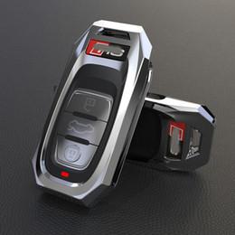 AUDI A4L Için araba Anahtarı Kapak Durumda fob A5 A6 A6L Q5 S5 S7 A4 B9 Q5 Q7 Q7 TT TTS 8 S 754C / 754G araba akıllı uzaktan anahtarlık Araba Styling nereden