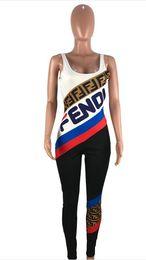 Combinaisons imprimées de femmes sexy d'été de Designer Logo Bodycon robes de soirée pour femmes manches courtes tenue décontractée femme vêtements ? partir de fabricateur