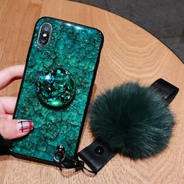 Canada NOUVEAU téléphone housse avec diamant style extensible grip titulaire de téléphone portable avec des cordons pour iphone xs xr cheap iphone cases grip Offre
