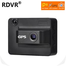 Canada 2019 Nouveau 3 en 1 AntiRadar voiture DVR dash cam avec GPS Locator 720P enregistreur vidéo caméra de tableau de bord pour les pays russes Offre