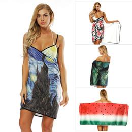 15 estilos Summer Beach bufanda mantón vestido Smock Wrap Bikini bohemio cubierta Ups protector solar chal playa traje de baño traje de baño bufanda desde fabricantes
