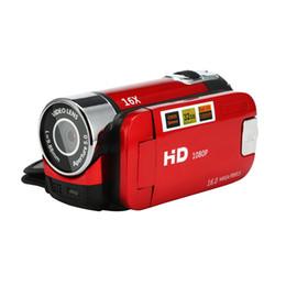 2019 verstecke kamerataschen Freies Verschiffen 1080P HD Videokamera Kamerarecorder 16x Digitalzoom Handdigitalkameras 80720