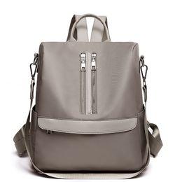 Women Backpacks Waterproof Nylon Bookbags Vintage Backpack For Teenage  Girls Casual School Daypack Large Capacity Shoulder Bags nylon small  backpack ... c0fbff897f9e0