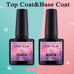 primer coating Coupons - COSCELIA Soak Off Gel Lacquer Professional 8ml Gel Polish Base Coat and Top Coat Varnishes Primer Nail Art Uv Nail Polish