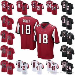Jersey elite 24 online-Atlanta Fútbol Falcon 2 Matt Ryan Jersey Hombres 11 Julio Jones 24 Devonta Freeman 18 Ridley 21 Desmond Trufant Elite 100 aniversario