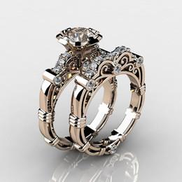 Nouvel or incrusté bijou imitation bague cadeaux vente chaude fabricants de bijoux de style tribunal saphir rouge salesize 5-10 ? partir de fabricateur