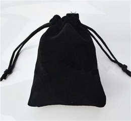 Bolsa de jóias de veludo presente pacote presente apto para colar pulseira brinco pano Saco 7 * 9 cm de
