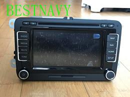 2019 carro rádio gps wifi hyundai Original NOVO Carro de Navegação RNS510 módulos de exibição de rádio LED para VW Golf Passat Skoda RNS510 DVD Player do carro 3CD 035 682 A B verison