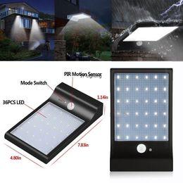 1 PZ Black Outdoor Light 36-LED Solar Motion attivato sensore di sicurezza della lampadina di sicurezza della lampada da