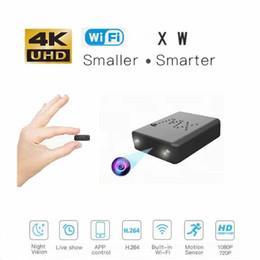 2019 kleinste wifi kameras 2019 New Smart 4 Karat 1080 P HD Mini Kamera Kleinste XD WiFi Mini Camcorder IR Nachtsicht Micro Cam Bewegungserkennung XW Auto DVR günstig kleinste wifi kameras
