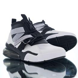2019 zíper com zíper Força 270s Utility Almofada Zipper Designer Drift cinto Branco Preto Funcional Streamer Carregando Homens Sports Running Shoes Manter tênis quentes desconto zíper com zíper
