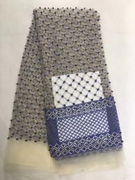 Zjl161 caliente bordado llano francés encaje neto, alta calidad nigeriano africano tul tela de encaje de malla para el vestido de boda 5 yardas desde fabricantes