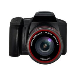 New 1080p HD telefoto câmera SLR lente da câmera digital com luz de preenchimento de vídeo 1600W de pixels presentes 16X zoom av interface de viagem essencial de Fornecedores de telas grandes barato