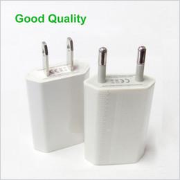 2019 enchufe uk principal Buena calidad 5V 1000ma 1A Universal Plug delgado USB de la UE del cargador de la pared del adaptador de alimentación de CA para el teléfono inteligente Android Teléfonos Móviles Cargadores