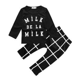 Hot Sale 2019 Fashion baby clothing baby boy clothes black Short T Shirt    Long Pants 2pcs bebe baby boy newborn clothing set 7879b6c0107b