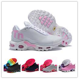 watch 17760 1f9bb Discount tn sneakers - 2019 Women Mercurial Plus Tn Ultra SE Gray Pink  White Orange Running