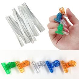 2019 art glassglass 35 # New Manicure Smooth Fiberglass Shaping Clips Set per Nail Extension Unghia Acrilica Tips Nail Art art glassglass economici