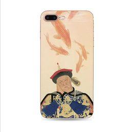 Wholesale Style chinoisPour iPhone XR XS Mas Plus Plus Chinois Style Palais Fleur Tassel Pendentif En Silicone En Relief Pour Téléphone Mobile Housse