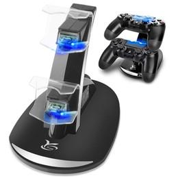 Contrôleur PS4 Chargeur Y Station de charge pour Playstation 4 Team Dual USB Station de charge rapide Indicateur LED pour Sony Contrôleur PS4 ? partir de fabricateur