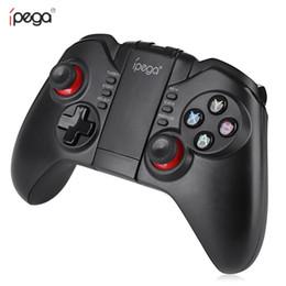 Ipega wireless pad on-line-iPega Sem Fio Game Pad Bluetooth 3.0 Controlador Pro Gaming Player Joystick para iOS PC Smartphone PG-9068 para Xiaomi Frete Grátis BA