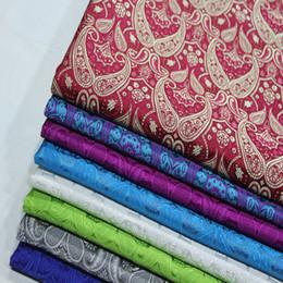спандекс павлина Скидка Diy Cos Китайское Платье Кимоно Дамасская Ткань Жаккардовая Парча Шелк Имитация Ткань для одежды Пипа