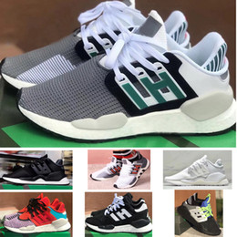 Numero di scarpe 18 uomini online-2019 EQT 91 18 Granite IPMENT SUPPORT Mesh breathe Men's Women's Lover's Running Sport sneaker fashion shoes Size US5-US10