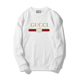 2020 camisolas cinza rosa GUCCI Hoodie Hip Hop Carta Imprimir Moletons Homens Mulheres Pullovers Streetwear clássico Hoodies Pink White Grey 3 cores camisolas cinza rosa barato