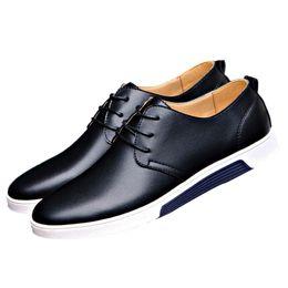 Nice Shoes formale Uomini pizzo Abito Uomini piatte scarpe di cuoio da sposa Solid Oxford formale per