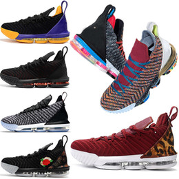 reputable site 3157f dc906 Nouveaux chaussures de basket-ball pour hommes Lebron James 16 à 16 ans I  Promise King 1 à 5 Oreo Fresh Bred Lakers QU EST-CE QUE LE formateur hommes  Sport ...