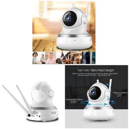 Tonerkennungskamera online-Wireless 720P Pan Tilt Networks Sicherheit CCTV-IP-Kamera Nachtsicht WiFi Webcam Sound Bewegungserkennung Baby Monitor SL @ 88