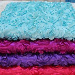 Hochzeit teppichläufer online-Rosenblütenbad Teppich 30m / lot Wedding Aisle Runner White Rose Flower Petal Teppich für Hochzeit Mittel Bevorzugungen Dekoration liefert EEA340
