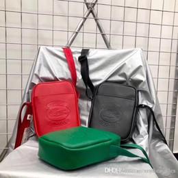 Argentina 18SS cocodrilo x Sup Crossbody bolsos de embrague de cuero moda hombres mujeres Messenger Bumbag calle impermeable hombro bolsas al aire libre Suministro