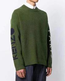 Cavo di tigre online-19ss uomo donna maglione di cotone autunno e inverno new tiger head side set lettera logo maglione lavorato a maglia maglione girocollo di alta qualità