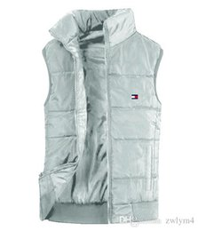 2020 зимние пуховые жилеты Men's Winter Outdoor Heavy Coats north Down Vest outdoor Lightweight Jackets mens Water Repellent Puffer face Vests дешево зимние пуховые жилеты