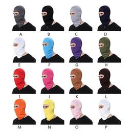 Canada Coupe-vent cyclisme Masques faciaux intégral 16 couleurs Hiver Réchauffeur Balaclavas Vélo Sport Écharpe Masque Vélo Snowboard Ski Masque Offre