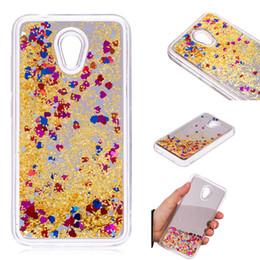 telefon 3g fälle Rabatt Abdeckung für Alcatel U5 3G 4047D 4047 Fall Quicksand-Flash-Funkeln-Puder Spiegel-harter Handy-Gehäuse Cover
